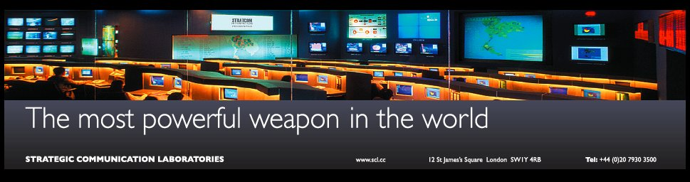 The most powerful weapon in the world : www.scl.cc